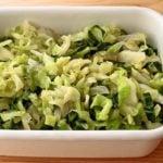 【野菜ひとつ】キャベツの酢の物