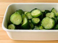 【野菜ひとつ】きゅうりのわさび酢漬け