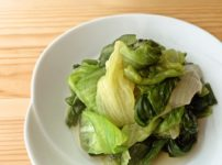 【野菜ひとつ】レタスのおひたし