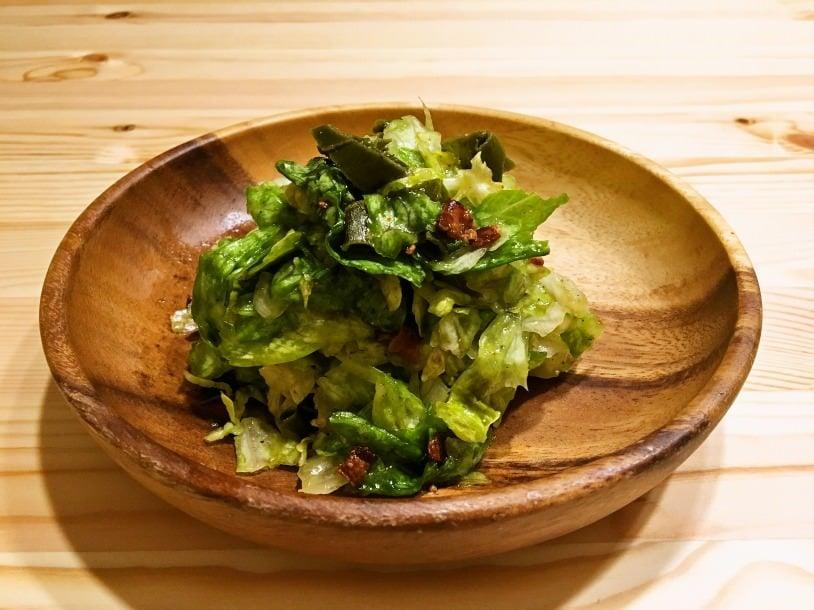 生レタスサラダ
